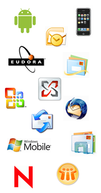 outbound smtp for microsoft, mac, novell, lotus, joomla, unix, mobile, iphone, android
